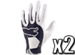 Puma 2013 Performance Glove White Black M x2