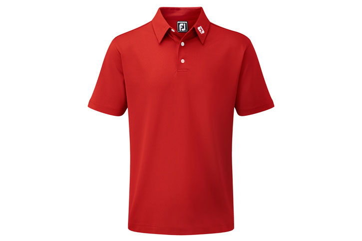 FootJoy 2012 Performance Stretch Solid Pique Red S