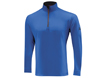Mizuno AW2012 Warmalite Long Sleeve Half Zip Royal L