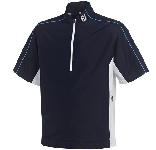 FootJoy 2012 DryJoys Performance Light SS Rain Shirt Navy M