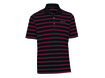 TaylorMade by Ashworth AW2012 Pique Striped Collegiate Red XL