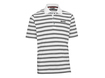 TaylorMade by Ashworth AW2012 Pique Striped White XL