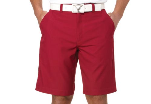 Callaway 2012 Flat Front Twill Beet Red 32
