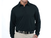 Callaway AW2012 Chev Embossed Long Sleeve Polo Anthracite XL