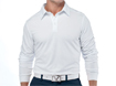 Callaway AW2012 Chev Embossed Long Sleeve Polo White XL