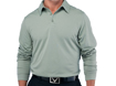 Callaway AW2012 Chev Embossed Long Sleeve Polo Shadow M