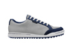 Ashworth AW2013 Mesh Cardiff Golf Shoes Aluminium Navy UK 9