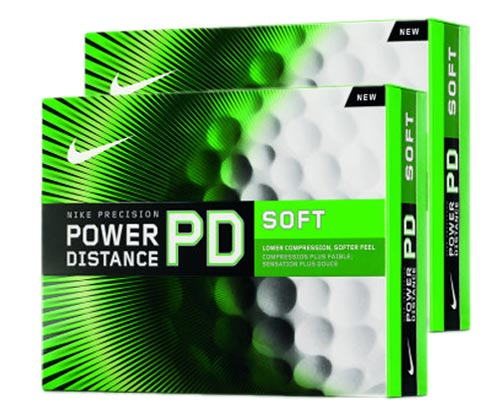 Nike 2012 Power Distance Soft x2 with FREE VR Hat Clip Ball Marker