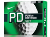 Nike 2014 PD8 Soft Balles de Golf