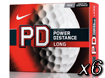 Nike 2014 PD8 Long Golfballen x6