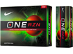 Nike 2013 One RZN Golf Balls with FREE VR Hat Clip Ball Marker