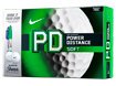 Nike 2014 PD8 Soft Golfballen with FREE Sharpies