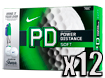 Nike 2014 PD8 Soft Golf Balls with FREE Sharpies x12