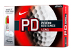 Nike 2014 PD8 Long Golfballen with FREE Sharpies