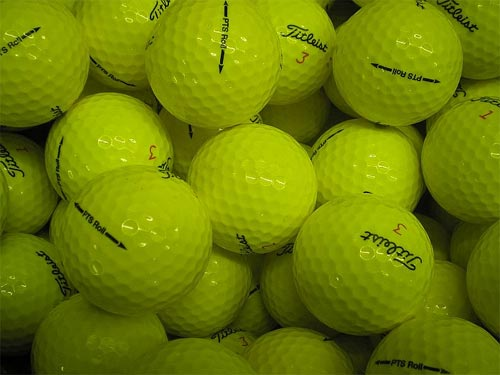 Titleist Lake Balls x100 Yellow