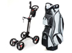 Lynx Trolley and Cart Bag Package Black