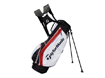 TaylorMade 2014 Carry Lite Stand Bag Sort Hvid Rød