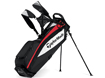 TaylorMade 2014 Pure Lite Stand Bag Sort Rød