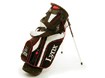 Lynx 2014 Parallax Stand Bag Sort Rød with FREE Towel