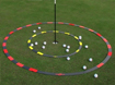 EyeLine Golf Target Circle 3 Foot