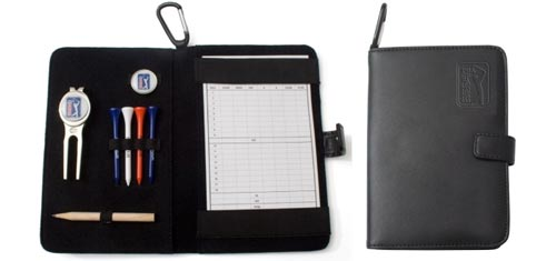 PGA Tour Leather Golf Organiser