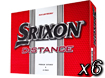 Srixon 2013 Distance Golf Balls x6