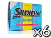 Srixon 2013 AD333 Golf Balls Yellow x6