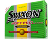 Srixon 2014 Soft Feel Balles de Golf Jaune