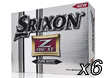 Srixon 2013 Z Star XV Golf Balls x6