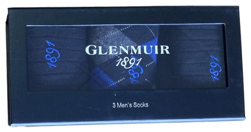 Glenmuir 2011 Mens Socks Navy