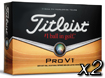 Titleist 2013 Pro V1 Golf Balls X2