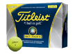 TItleist 2012 NXT Tour S Yellow