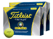 TItleist 2012 NXT Tour S Yellow x2