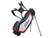Titleist 2013 Ultra Lightweight Stand Bag Black White Red