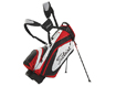 Titleist 2014 Lightweight Stand Bag Sort Hvid Rød