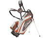 Titleist 2014 Lightweight Stand Bag Hvid Charcoal Orange