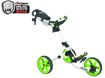 Clicgear 3.5 Push Cart Arctic White Lime