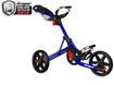Clicgear 3.5 Push Cart Blue