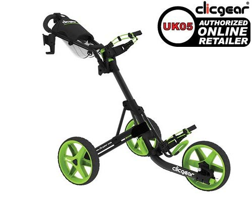 Clicgear 3.0 Charcoal Lime