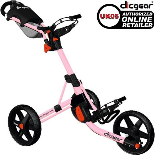 Clicgear Push Cart 3.0 Pink