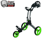 Clicgear 2014 Rovic RV1C Trolley Charcoal Lime