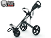 Clicgear 2014 Rovic RV3F Trolley Charcoal Black