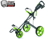Clicgear 2014 Rovic RV3F Trolley Charcoal Lime
