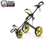 Clicgear 2014 Rovic RV3F Trolley Charcoal Yellow