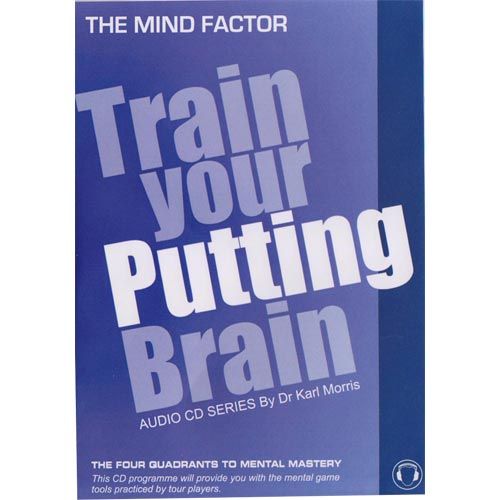 Train Your Putting Brain Audio CD