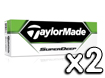 TaylorMade 2013 Superdeep Golf Balls x2