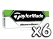 TaylorMade 2013 Superdeep Golf Balls x6