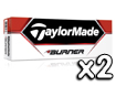 TaylorMade 2013 Burner Golf Balls x2