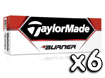 TaylorMade 2013 Burner Golf Balls x6