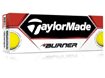 TaylorMade 2013 Burner Golf Balls Yellow